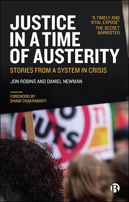 Justice in a Time of Austerity cover.