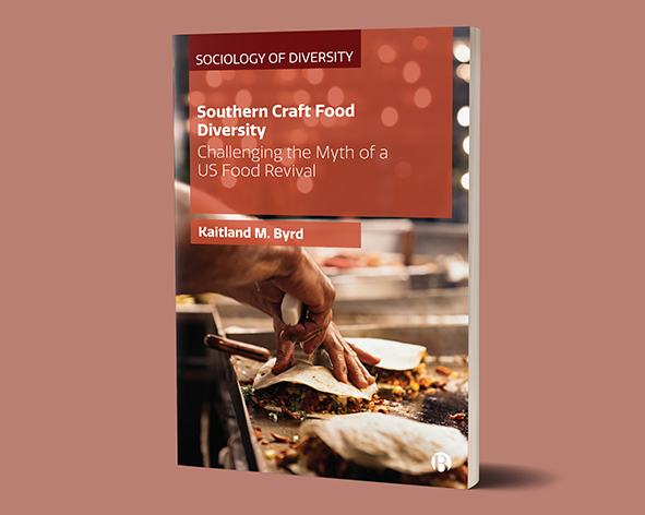 Southern craft food diversity book cover