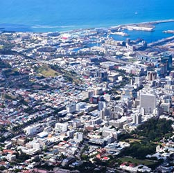 Cityscape of Cape Town