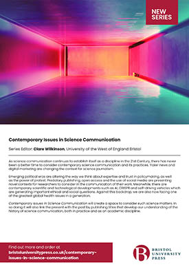 Contemporary issues in science communication flyer