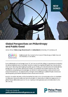 Global perspectives on philanthropy and public good flyer