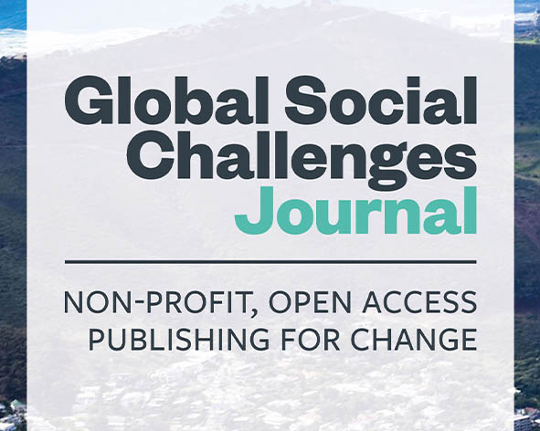 Announcing the Global Social Challenges Journal