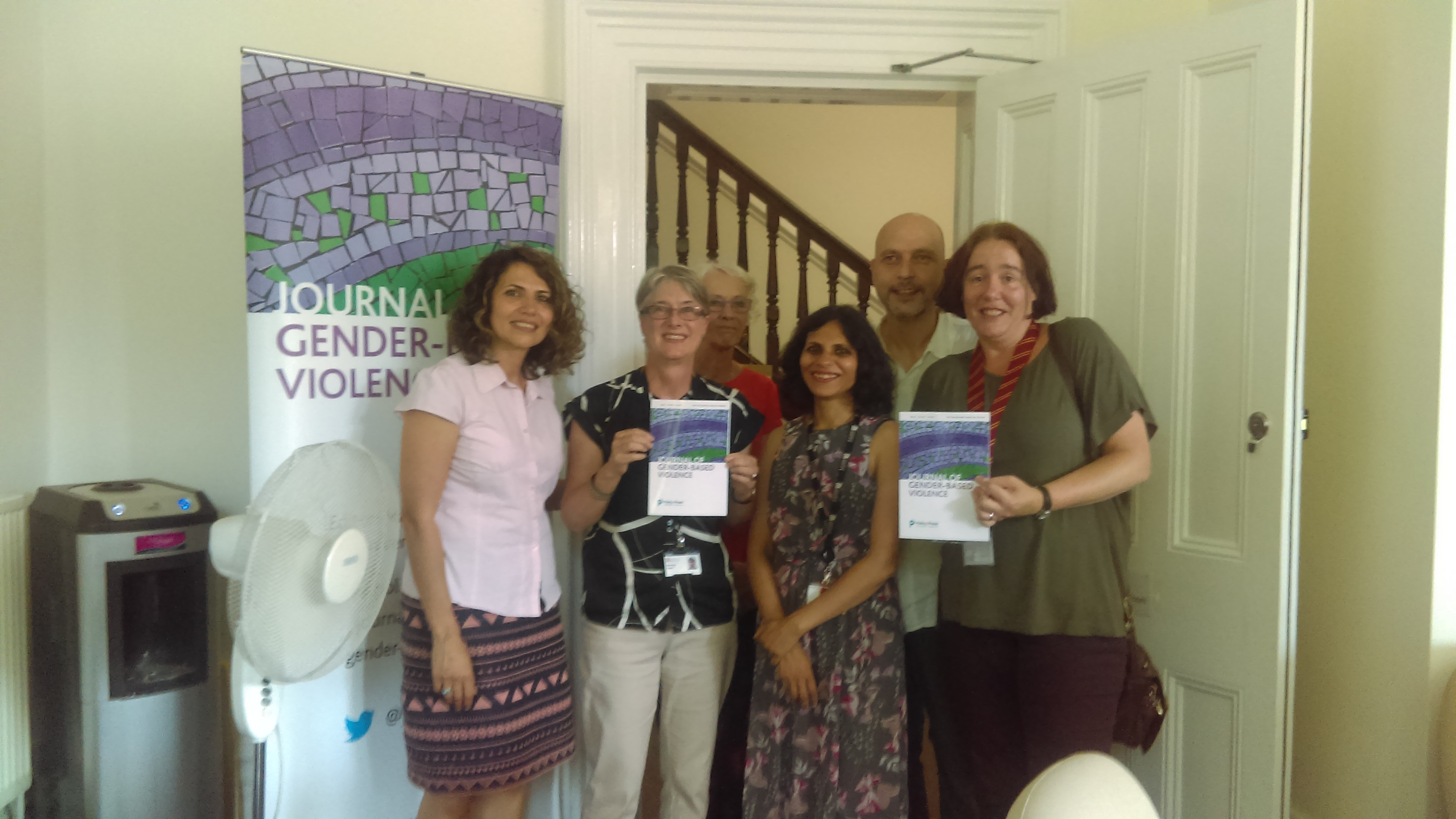 Launch of the Journal of Gender-Based Violence