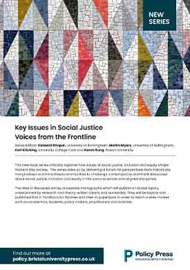 Key issues in social justice flyer