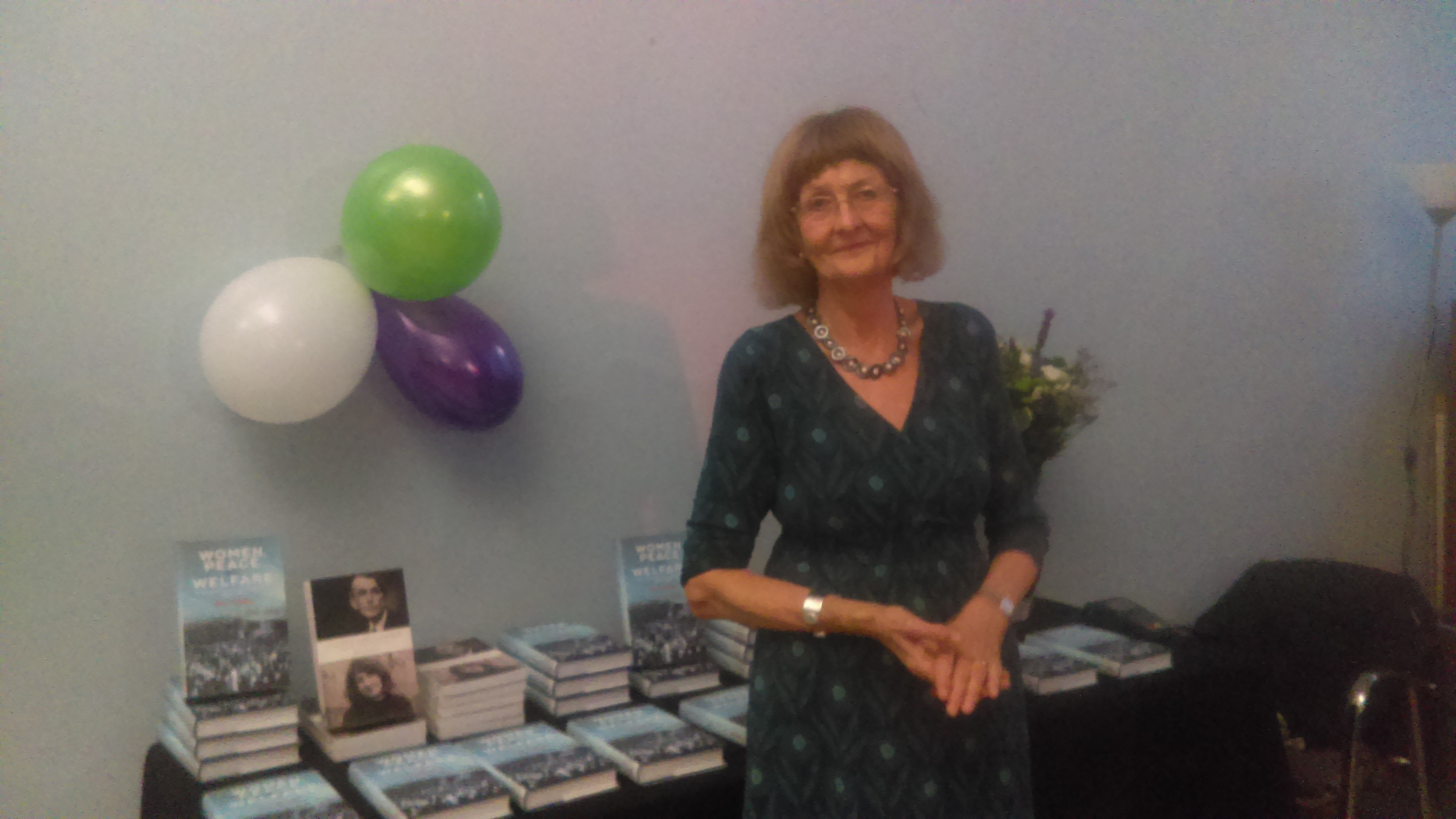 Ann Oakley book launch