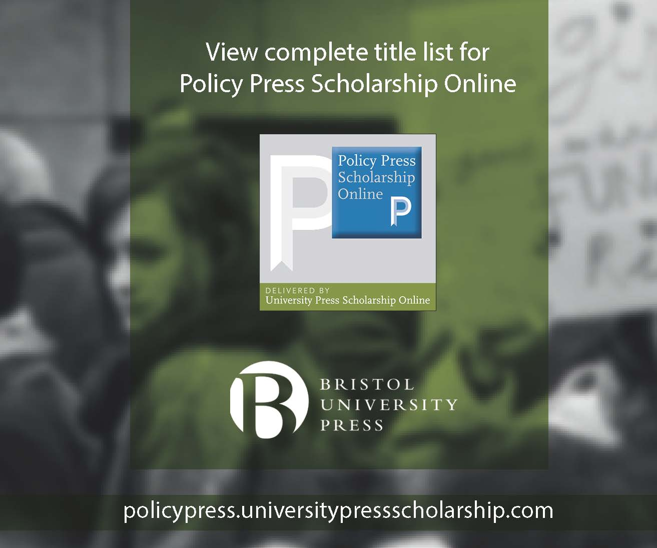 New Policy Press Scholarship Online Upload