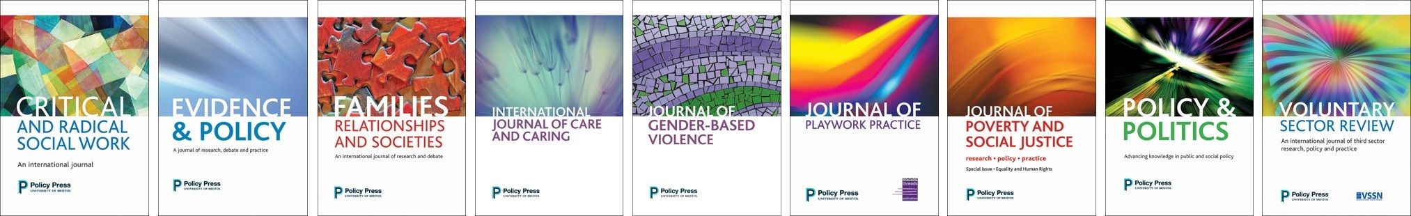 Policy Press Journals 2017