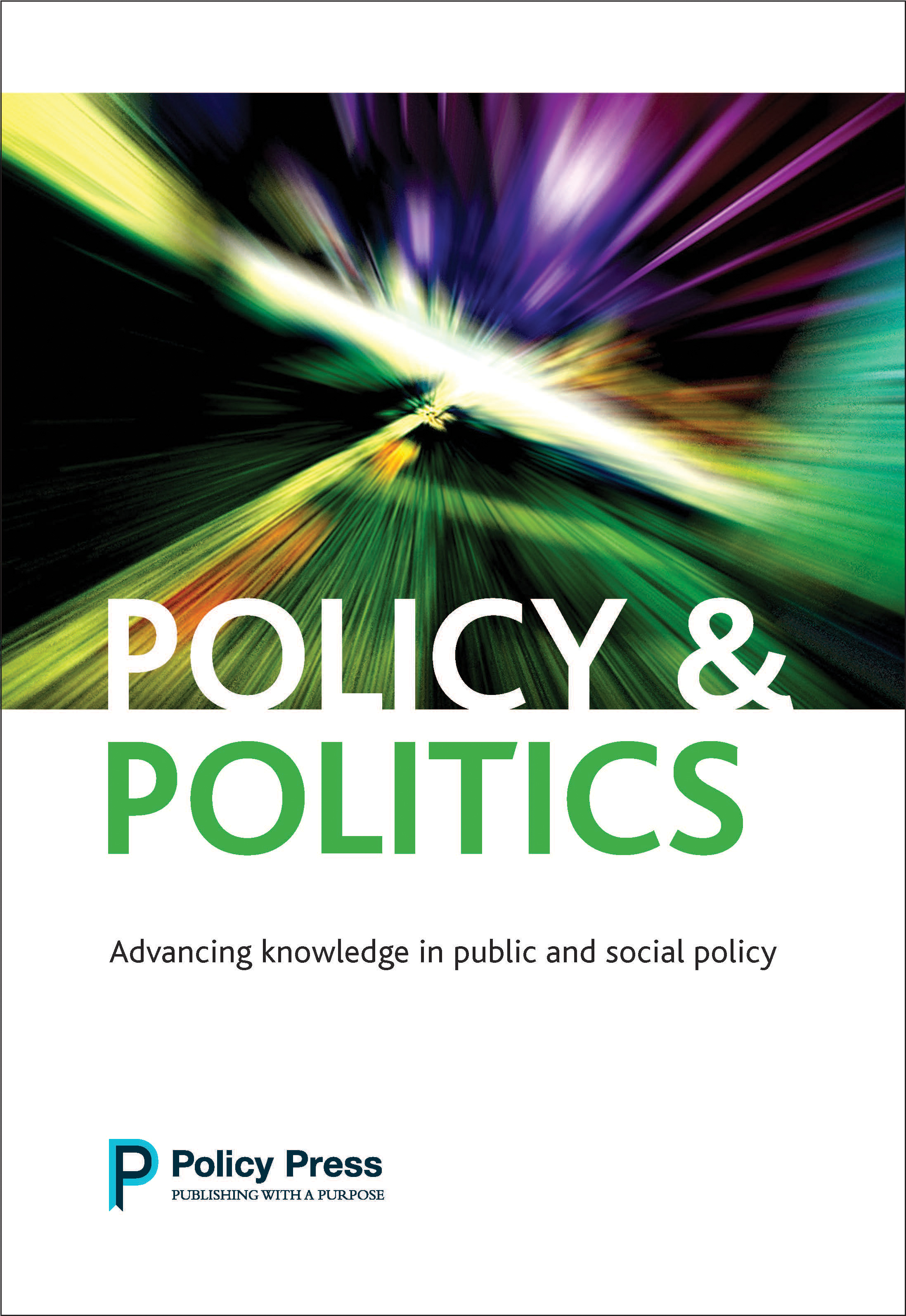 Impressive Impact Factor result for Policy & Politics