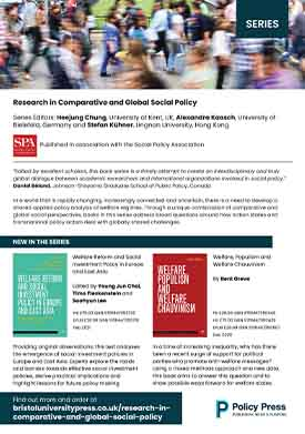 Research in comparative and global social policy flyer
