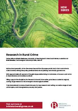 Research in rural crime flyer