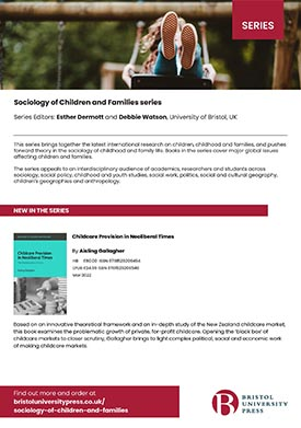 Sociology of Children and Families flyer