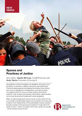 Spaces and Practices of Justice flyer