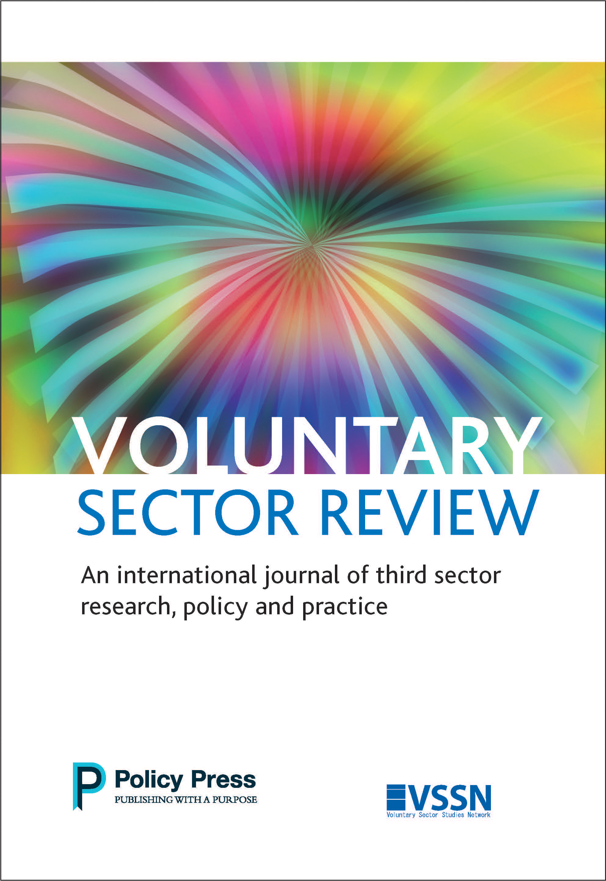 Voluntary sector review cover