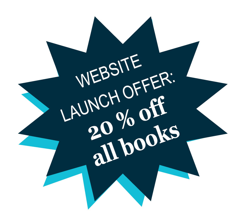 New website special offer: 20% off all books