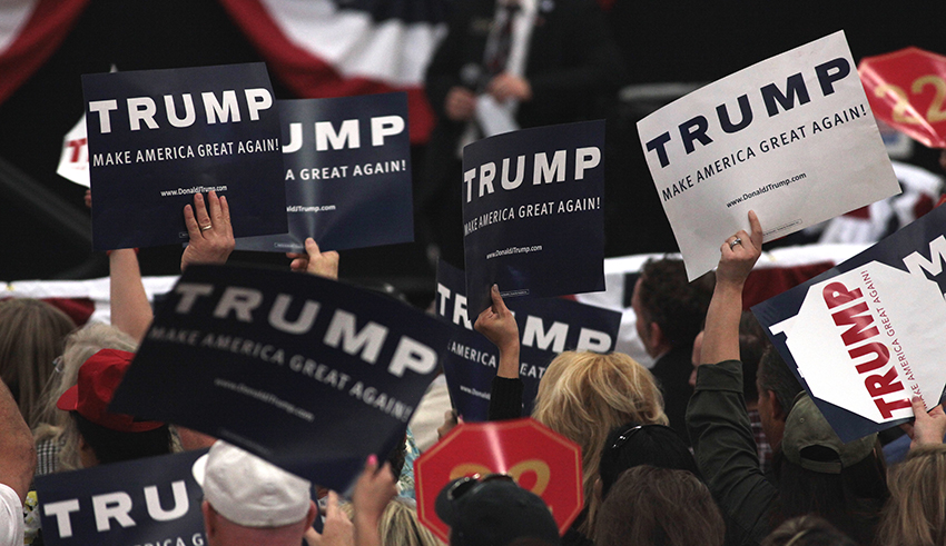 Do racial divides in the US explain support for Trump?